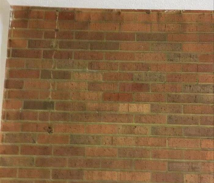 Brick Wall Soot Restoration After