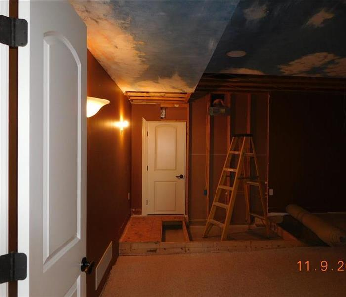 Room and Painting Reconstruction  Before