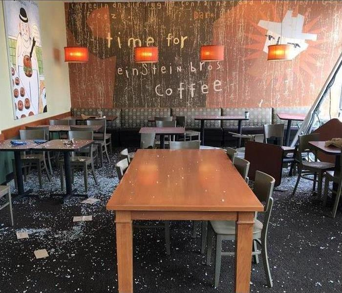 Bagel Shop Glass Disaster