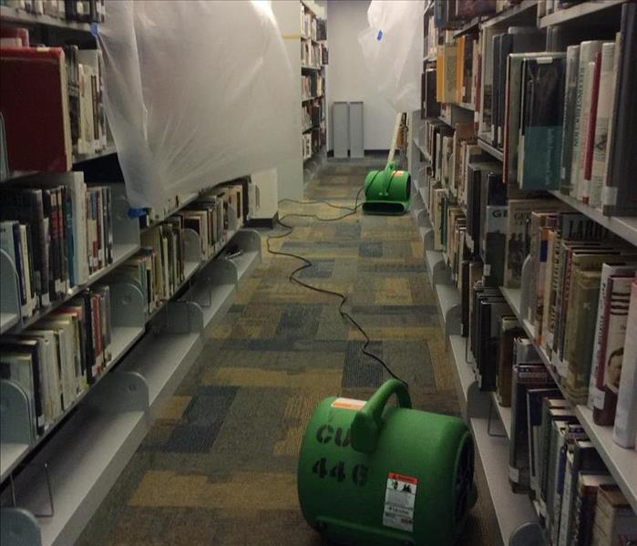 Pipe Burst at a Library