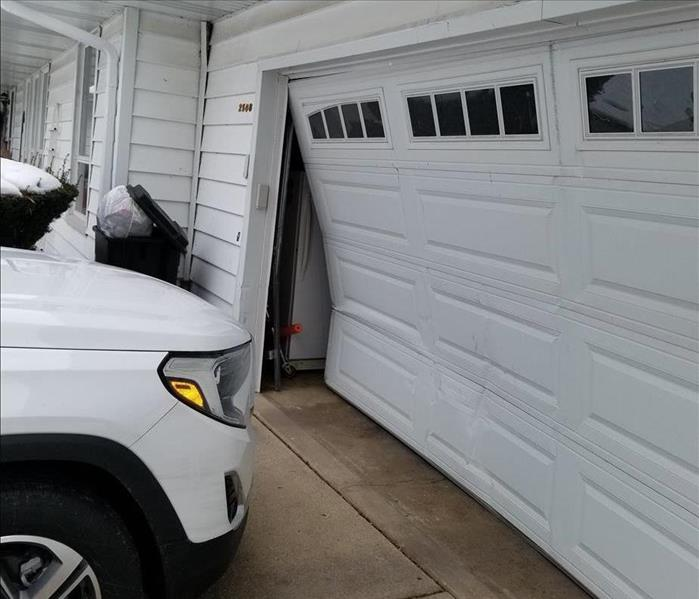 Garage Door Accident