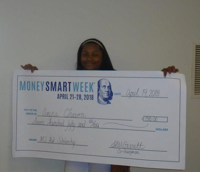 Commercial Money Smart Week Gives Kid's Scholarship