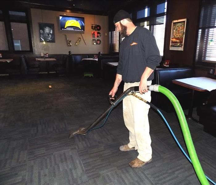 Commercial Danville Business Gets a Start on Spring Cleaning